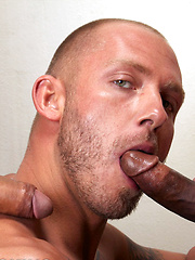 Preston begging to be double penetrated - Gay porn pics at GayStick.com