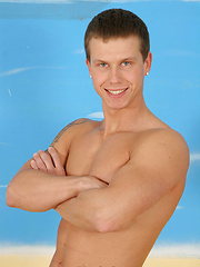 Blue-eyed twink boy loves to suck cocks - Gay porn pics at GayStick.com