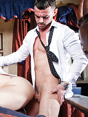 MATHEW MASON AND ADRIANO CARRASCO BLOW THEIR LOADS - Gay porn pics at GayStick.com