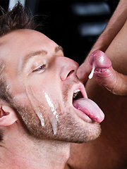Gay facial cumshots collection - Gay porn pics at GayStick.com