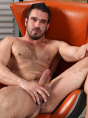 Lets have an intimate moment exploring Jake Bolton sexy hairy, body from wiggling toes to throbbing cock and beyond - Gay porn pics at GayStick.com