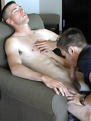 Sexy Southern Dannys 1st Gay BJ From Bryce - Gay porn pics at GayStick.com