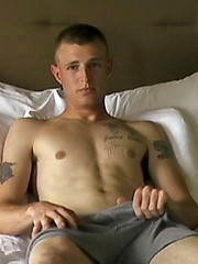 New Recruit Jessies First Solo - Gay porn pics at GayStick.com