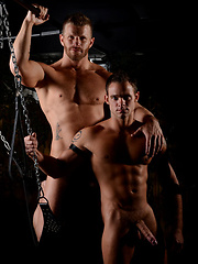Jeremy Stevens, Cooper Reed, and Shane Jacobs - Gay porn pics at GayStick.com