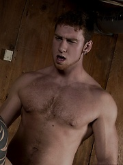 Hot jock Connor Kline is caught behind enemy lines by the hung hunk Connor Maguire - Gay porn pics at GayStick.com