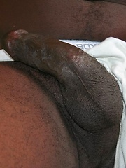 Big Black buck Daemon loves the south Florida heat - Gay porn pics at GayStick.com