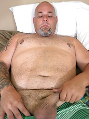We catch Joe lounging in his room - Gay porn pics at GayStick.com