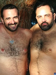 Bears of Spain Behind the Scenes  - Gay porn pics at GayStick.com