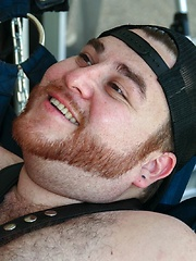 Big Boy Ginger Bear Shep Hunter puts his strong furry body to use fucking Mexican cub Chris Rojo - Gay porn pics at GayStick.com