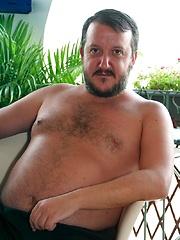 Spanish Bears Bukkake Gangbang - Gay porn pics at GayStick.com