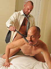 Jayson and Chad unwind after a hard day at the office - Gay porn pics at GayStick.com