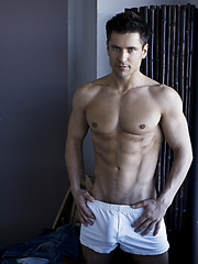 Special new set of images of one of most iconic models, Lukas Ridgeston - Gay porn pics at GayStick.com