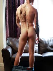 Christian Wilde fucks Lance in a sweaty, intense scene - Gay porn pics at GayStick.com