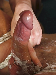 Blake Gets Wanked To Completion - Gay porn pics at GayStick.com