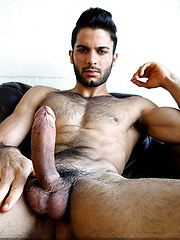 Tony Milan Opens Up and Unloads - Gay porn pics at GayStick.com