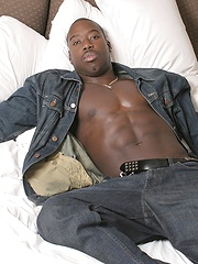 Big Black Cowboy Exposed - Gay porn pics at GayStick.com