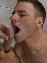 Nothing but hot and nasty cum shots from our twisted family of studios - Gay porn pics at GayStick.com