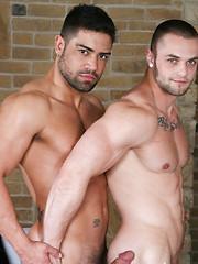 Strangers in Prague - Scene 3: Wagner Vittoria, Diego Lauzen, Ivo Kerk, Milos Zambo - Gay porn pics at GayStick.com