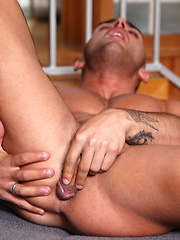 Lithe, tanned, toned and hung - Adrian Toledo is a scorching hot sub boy - Gay porn pics at GayStick.com
