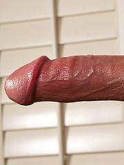 Redhead Kaelon shows dick - Gay porn pics at GayStick.com