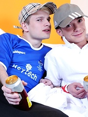 Lager-Supping Chavs Enjoy Some Deep-Throated Fun & A Hard Raw Fuck! - Gay porn pics at GayStick.com