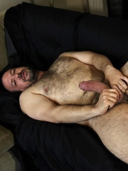 Furry bear, Ceasar Calderon is sweet and has a warm smile - Gay porn pics at GayStick.com