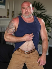 Dwaine Anthony is one hot biker bear with a nice tight meaty ass that is ready for some bear meat