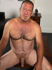 Big bull muscle bear Derik Strong is rough and ready for good ol fashion fucking - Gay porn pics at GayStick.com