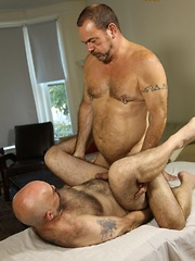 Tim Phillips hopes that his massage will end in a happy ending - Gay porn pics at GayStick.com