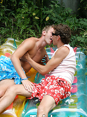They suck each others shafts and then get their tongues deep inside twitching holes - Gay porn pics at GayStick.com