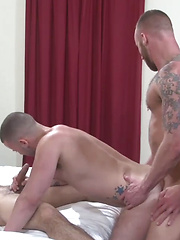 Derek Parker and Seth return to the studio for more hot bareback action - Gay porn pics at GayStick.com