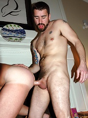 Daddies cum on their partners asses - Gay porn pics at GayStick.com