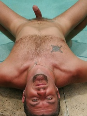 Two hairy buddy bears - Gay porn pics at GayStick.com