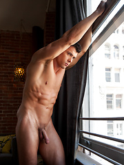 Anton Rivera He has the piercing eyes, a perfectly chiseled jaw line and muscles for days - Gay porn pics at Gaystick