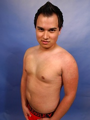 Andy Richard came in to do a solo - Gay porn pics at GayStick.com