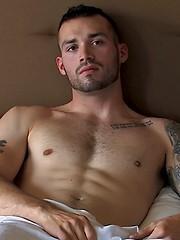Masculine Vic's Debut Solo - Gay porn pics at GayStick.com