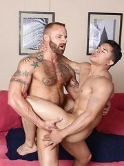 Derek Parker Barebacks Armond Rizzo - Gay porn pics at GayStick.com