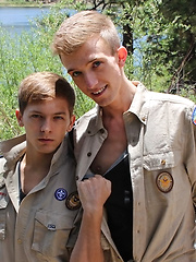 Bareback Scouts Earn A Badge - Gay porn pics at GayStick.com