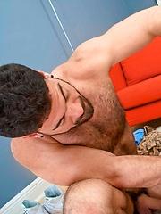 Hairy hunks fucks young boy hole - Gay porn pics at GayStick.com