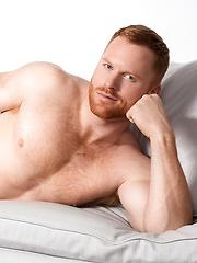 Sexy redhead model Seth Fornea - Gay porn pics at Gaystick