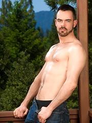 Dolan Wolf solo posing - Gay porn pics at GayStick.com