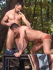 Trenton sucks Dolan cock - Gay porn pics at GayStick.com