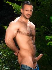 Adam Champ solo posing - Gay porn pics at GayStick.com