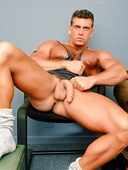 Perfect-sculpted man Jake Tanner - Gay porn pics at GayStick.com