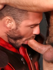 After a hard day of training, fucking - Gay porn pics at GayStick.com