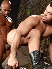 Black cock drills gay ass - Gay porn pics at GayStick.com