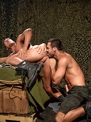 Angelo Marconi vs Jessy Ares in shoes - Gay porn pics at GayStick.com