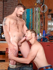 Billy Berlin and Morgan Black - Gay porn pics at GayStick.com