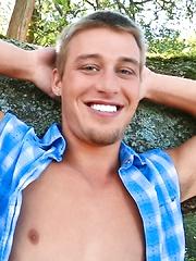 Sexy stud Austin Storm masturbates - Gay porn pics at GayStick.com