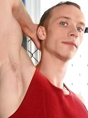 Paris Jones in a gym - Gay porn pics at GayStick.com